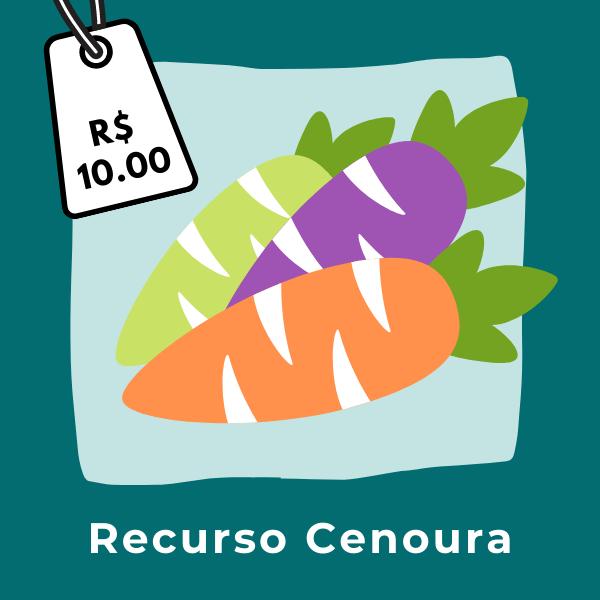 recurso cenoura
